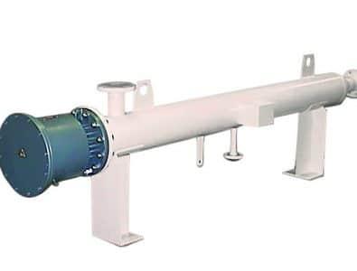 """Проточный циркуляционный нагреватель для взрывопожароопасных зон и нагреваемых газов (жидкостей) Ex """"d"""" (e) IIC (IIB) T1/T2/T3/T4/T5/T6, IP67/68"""