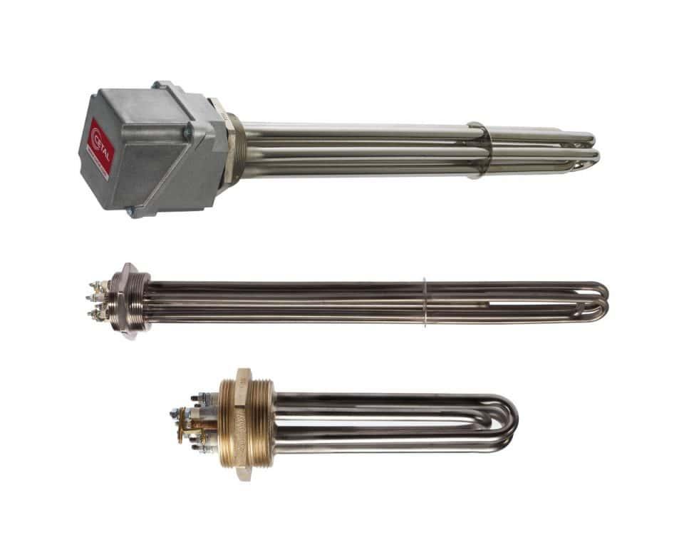 CETAL screw plug immersion heaters